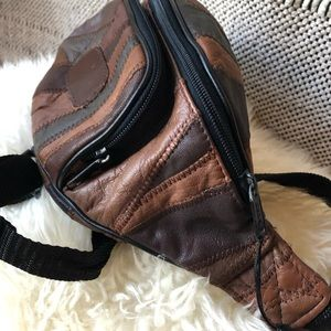 Vintage Genuine Leather Hip-pack